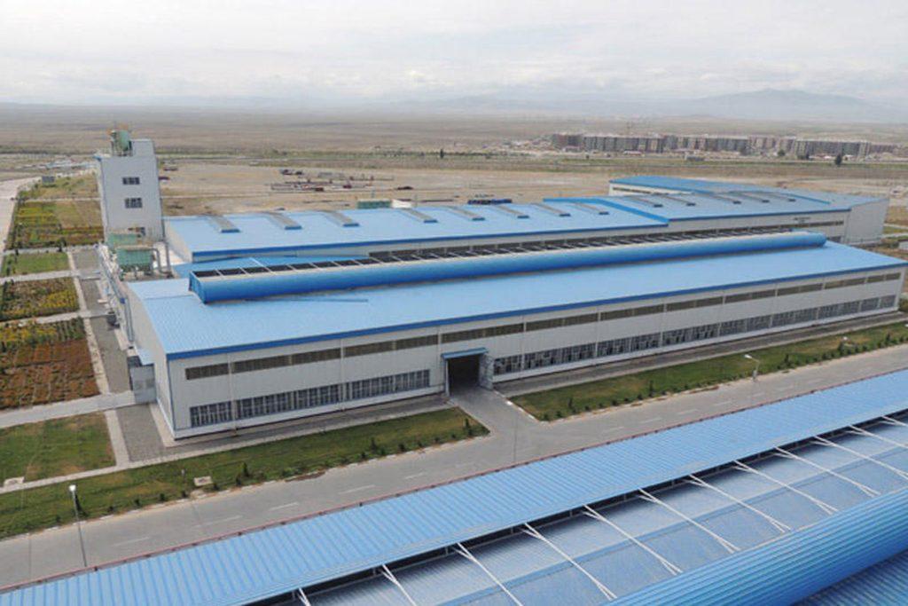 Ganja Aluminum Plant
