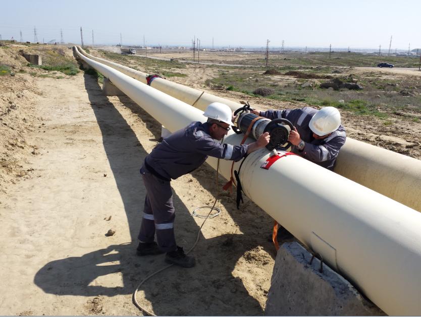 Gas pipeline - CASPIAN MERCURY / SOCAR